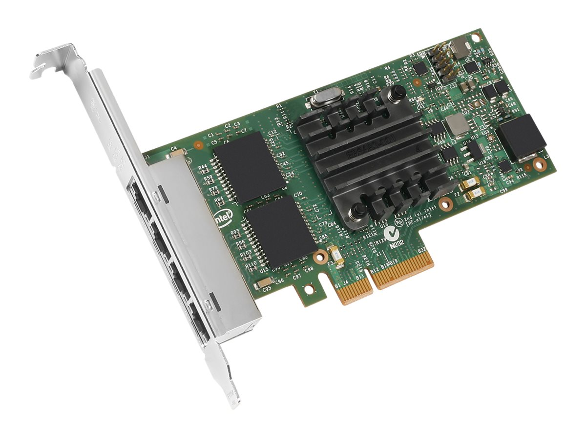 Intel Ethernet Server Adapter I350-T4 - network adapter - PCIe 2.0 x4 - Gigabit Ethernet x 4