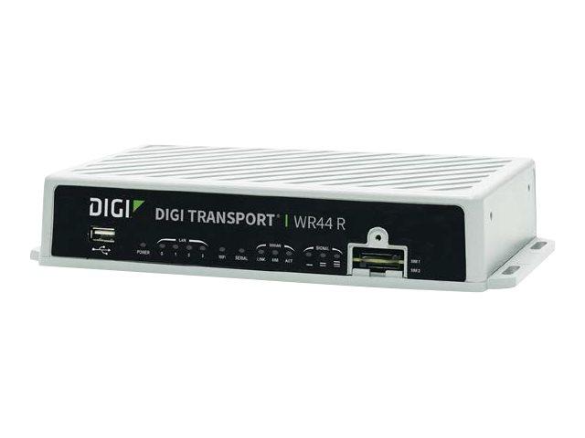Digi TransPort WR44 R - wireless router - WWAN - 802.11a/b/g/n/ac - desktop