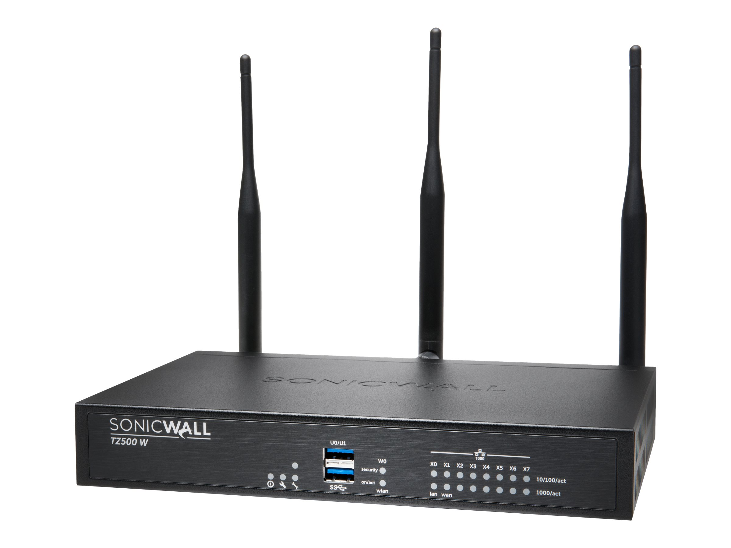 SonicWall TZ500 Wireless-AC - security appliance - SonicWALL Gen5 Firewall Replacement - with 1 year SonicWALL Advanced Gateway Security Suite