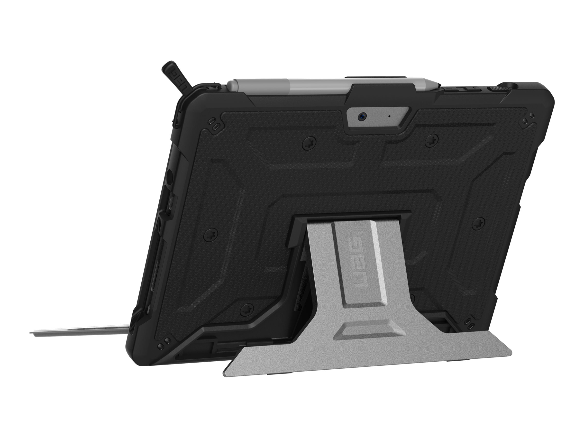UAG Rugged Case for Microsoft Surface Go - Metropolis Black - Non-Retail Packaging - back cover for tablet