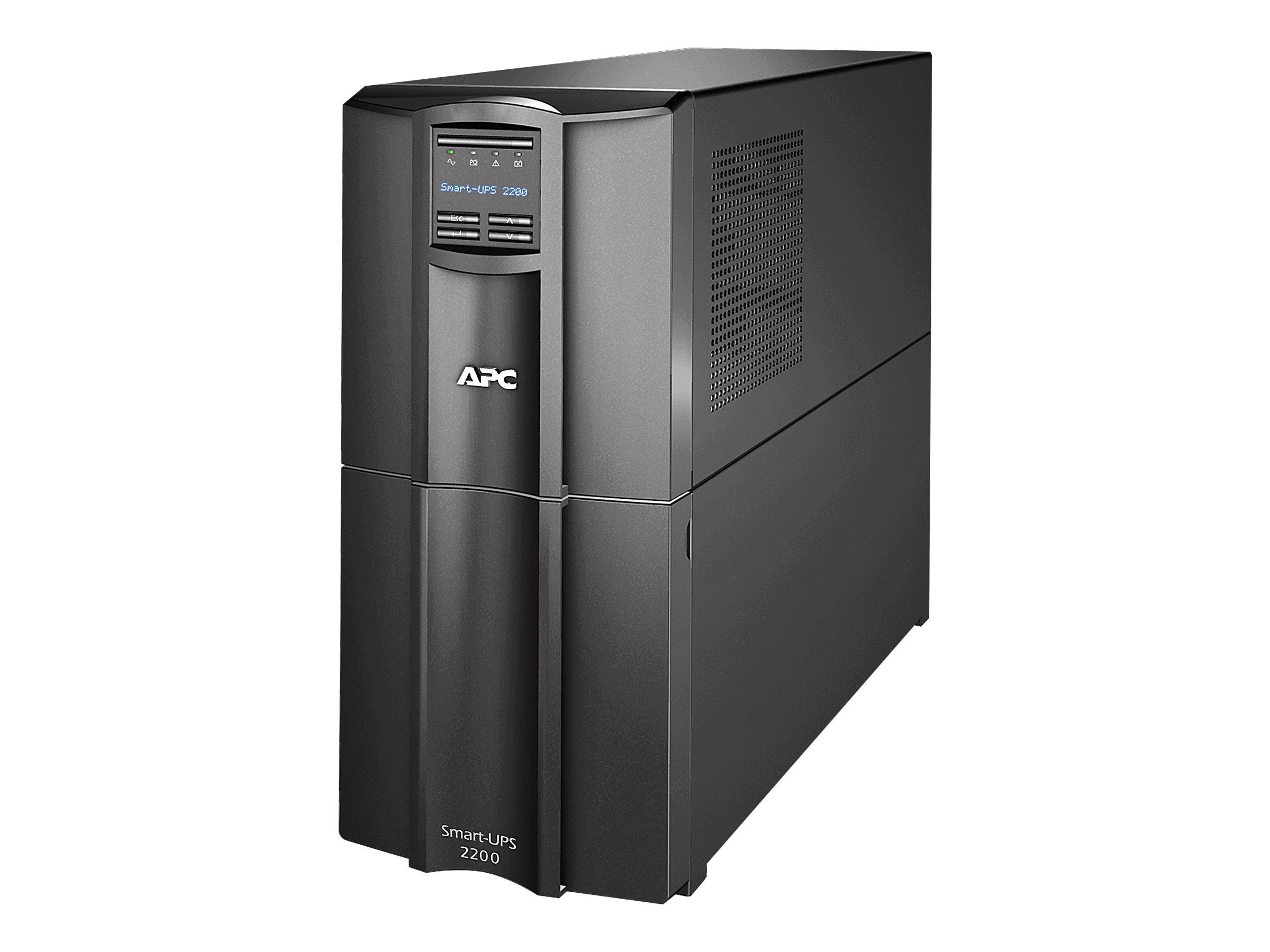 APC Smart-UPS SMT2200C - UPS - 1.98 kW - 2200 VA - with APC SmartConnect