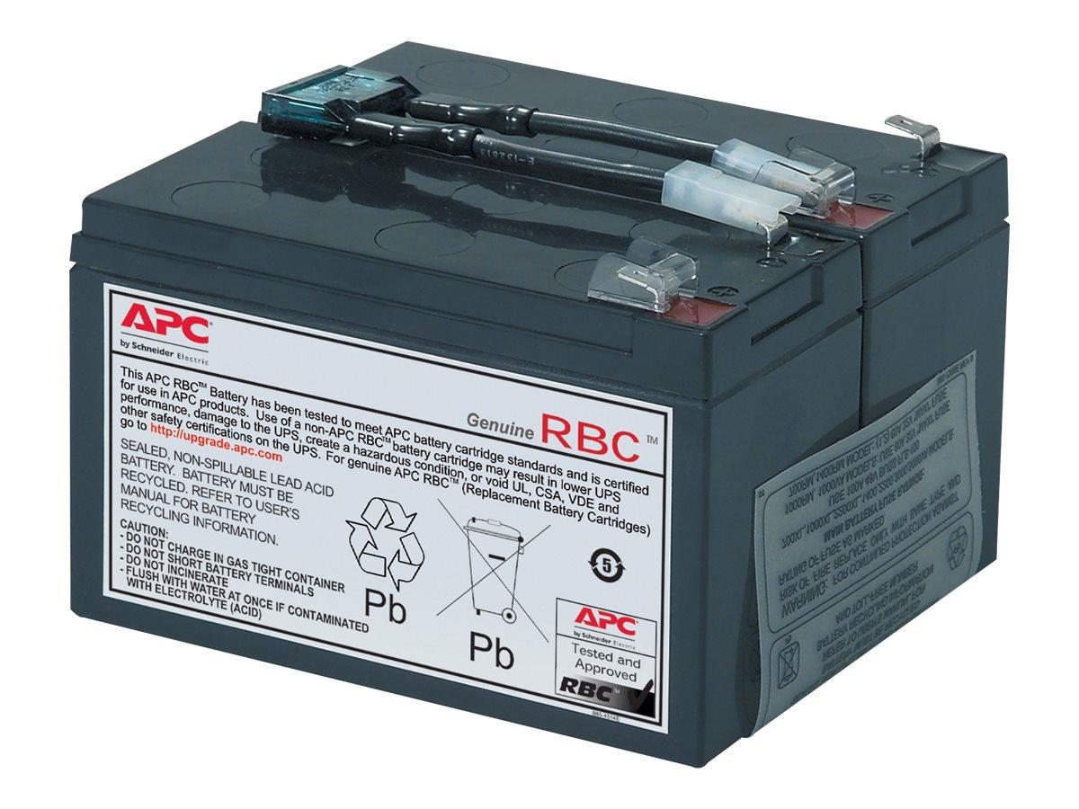 APC Replacement Battery Cartridge #9 - UPS battery - lead acid