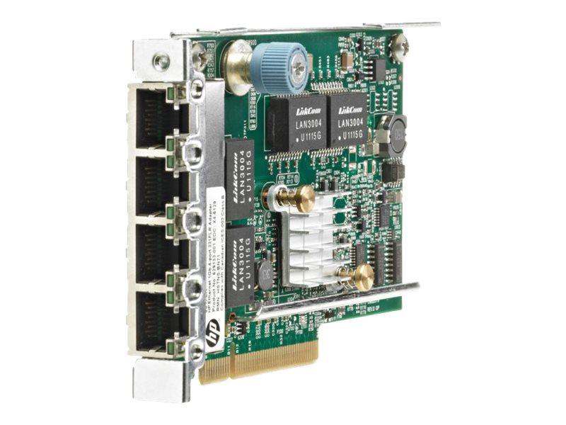 HPE 331FLR - network adapter - PCIe 2.0 x4 - Gigabit Ethernet x 4