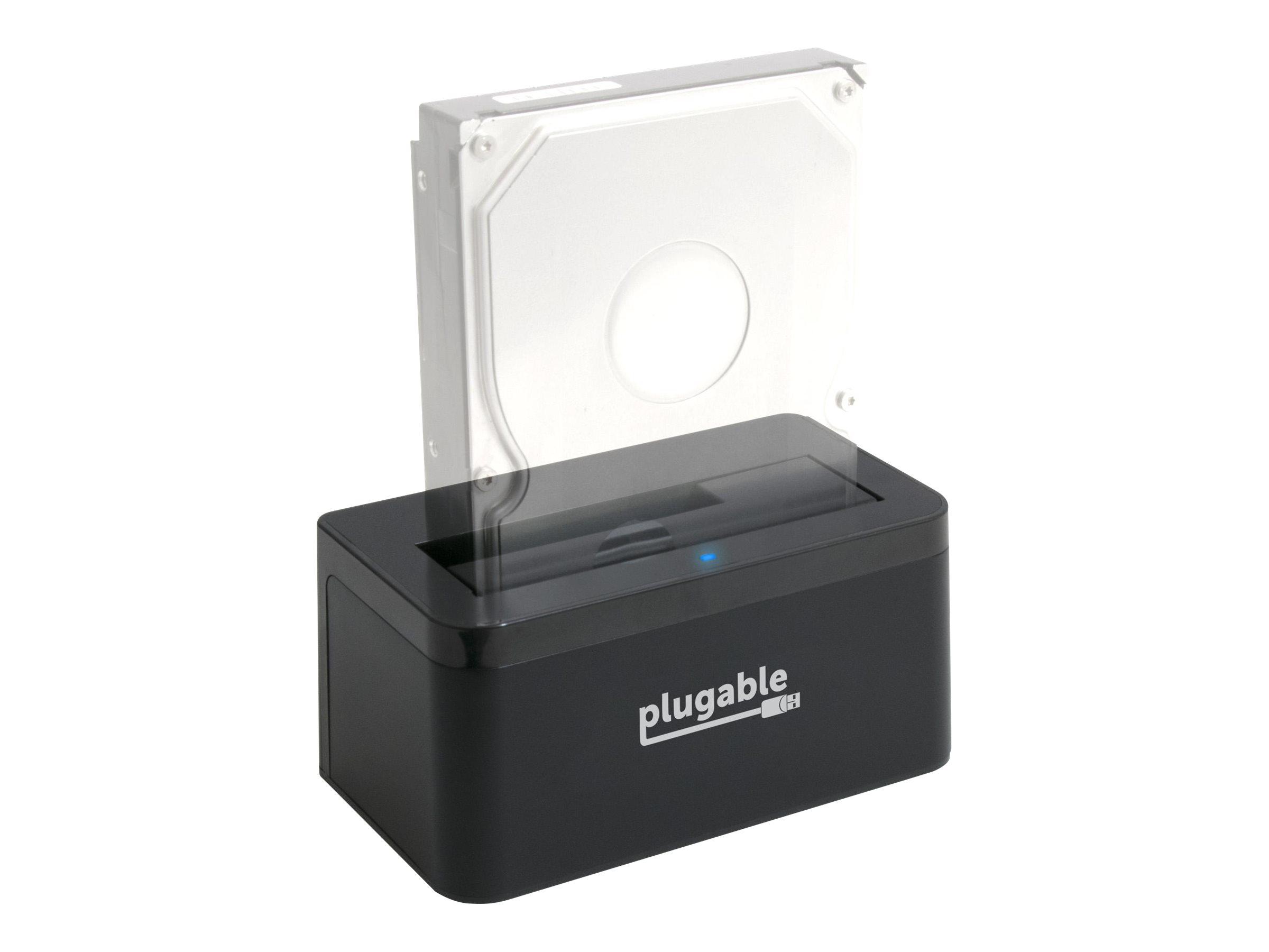 Plugable USBC-SATA-V - HDD docking station - SATA 6Gb/s - USB 3.1 (Gen 2)