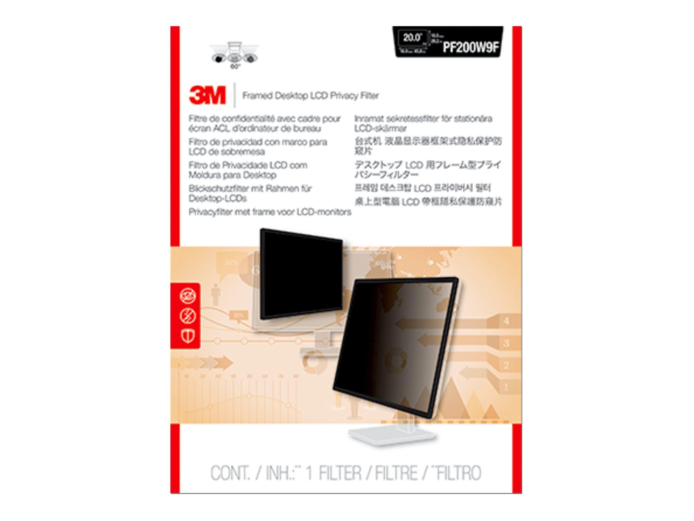 3M Framed Privacy Filter for 19.5