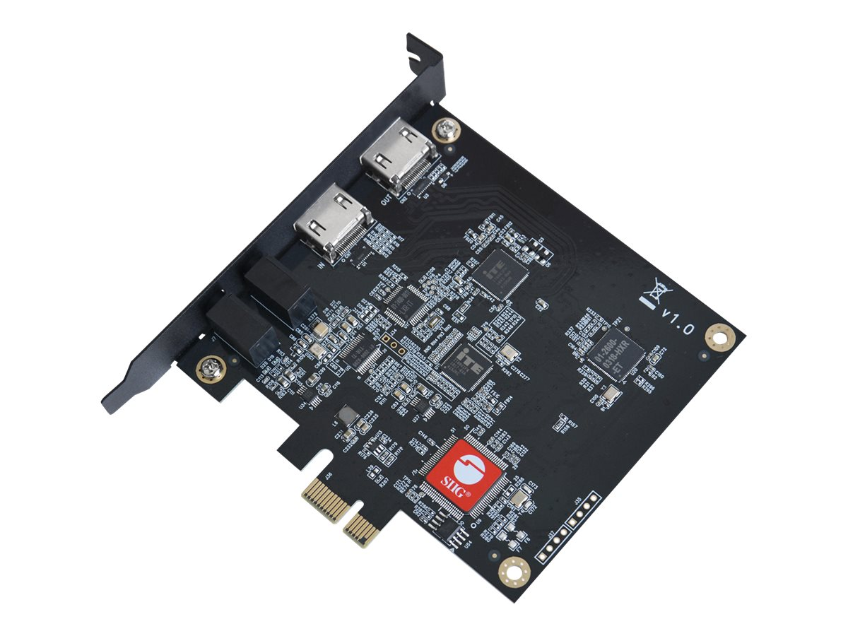 SIIG Live Game HDMI Capture PCIe Card - video capture adapter - PCIe 2.0