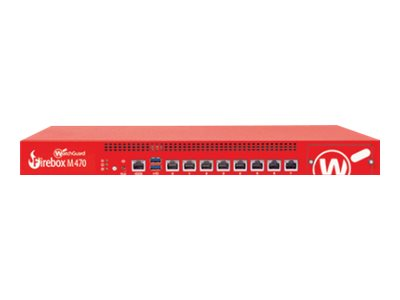 WatchGuard Firebox M470 - security appliance - WatchGuard Trade-Up Program - with 1 year Total Security Suite