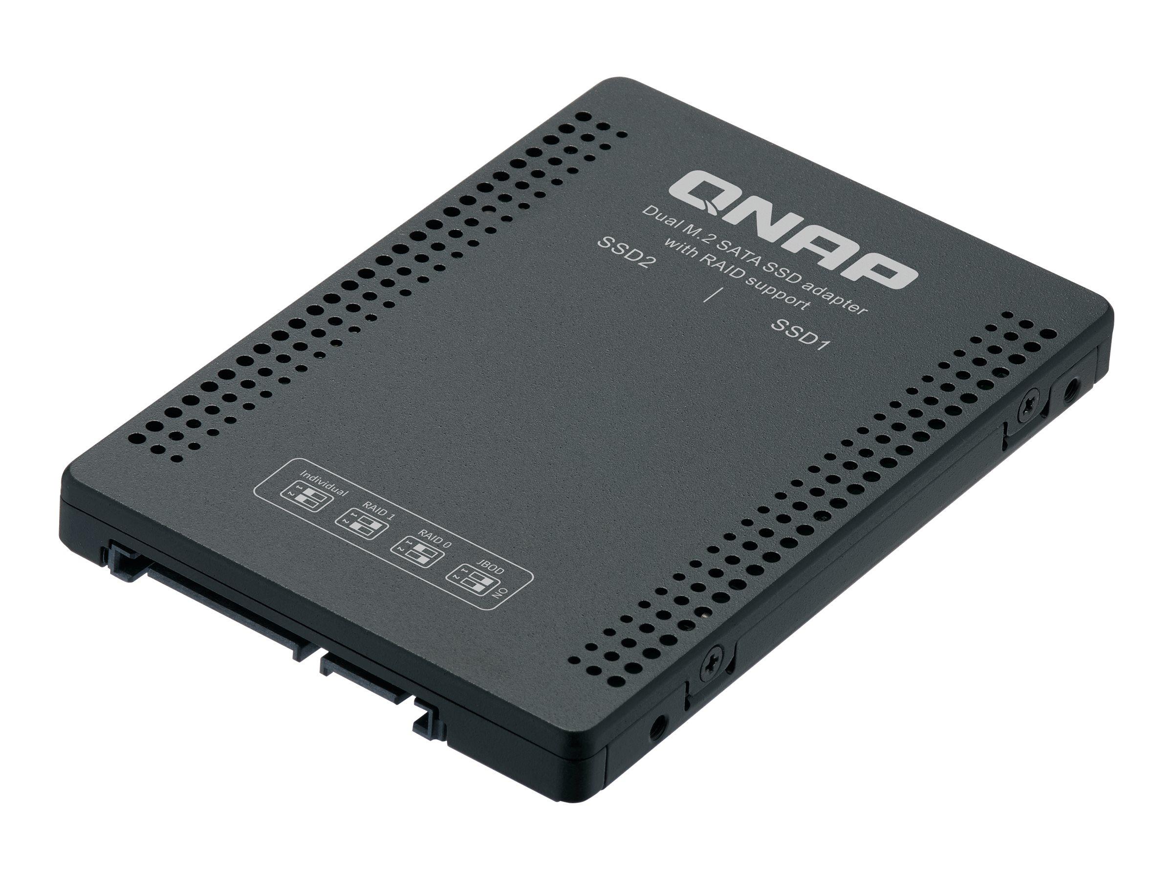 QNAP QDA-A2MAR - internal RAID enclosure - SATA 6Gb/s