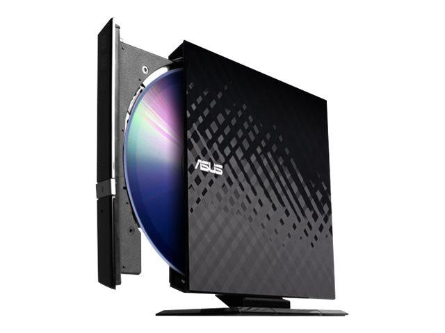 ASUS SDRW-08D2S-U - DVD±RW (±R DL) / DVD-RAM drive - USB 2.0 - external