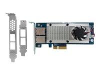 QNAP LAN-10G2T-X550 - network adapter - 10Gb Ethernet x 2