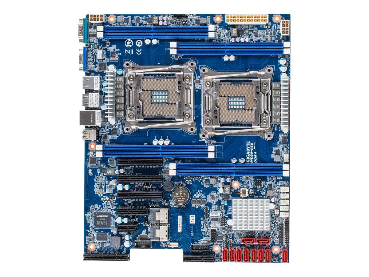 Gigabyte MD30-RS0 - 1.0 - motherboard - ATX - LGA2011-v3 Socket - C612