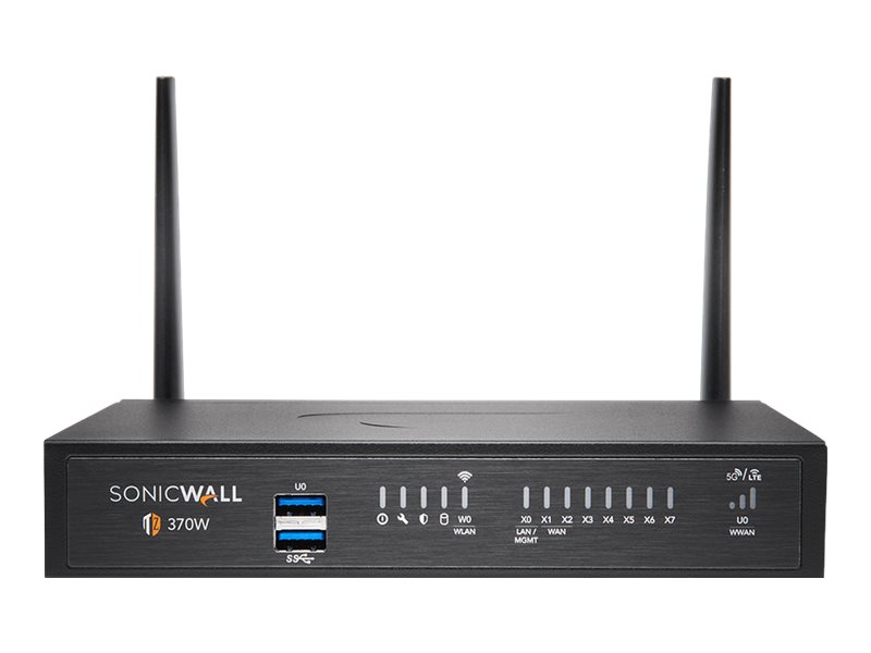 SonicWall TZ370W - Essential Edition - security appliance