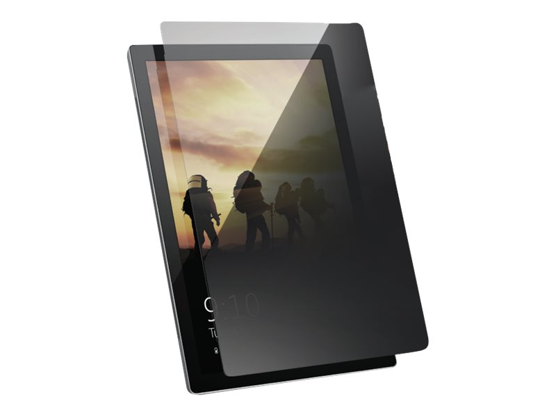 UAG Rugged Tempered Privacy Glass Shield for Microsoft Surface Go - screen protector for tablet