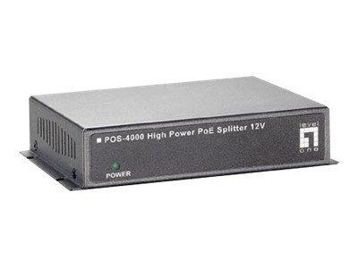LevelOne POS-4000 - PoE splitter - 30 Watt