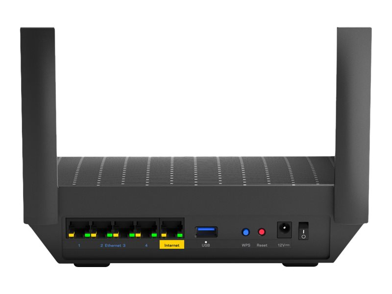 Linksys MAX-STREAM MR7350 - wireless router - 802.11ax - desktop..