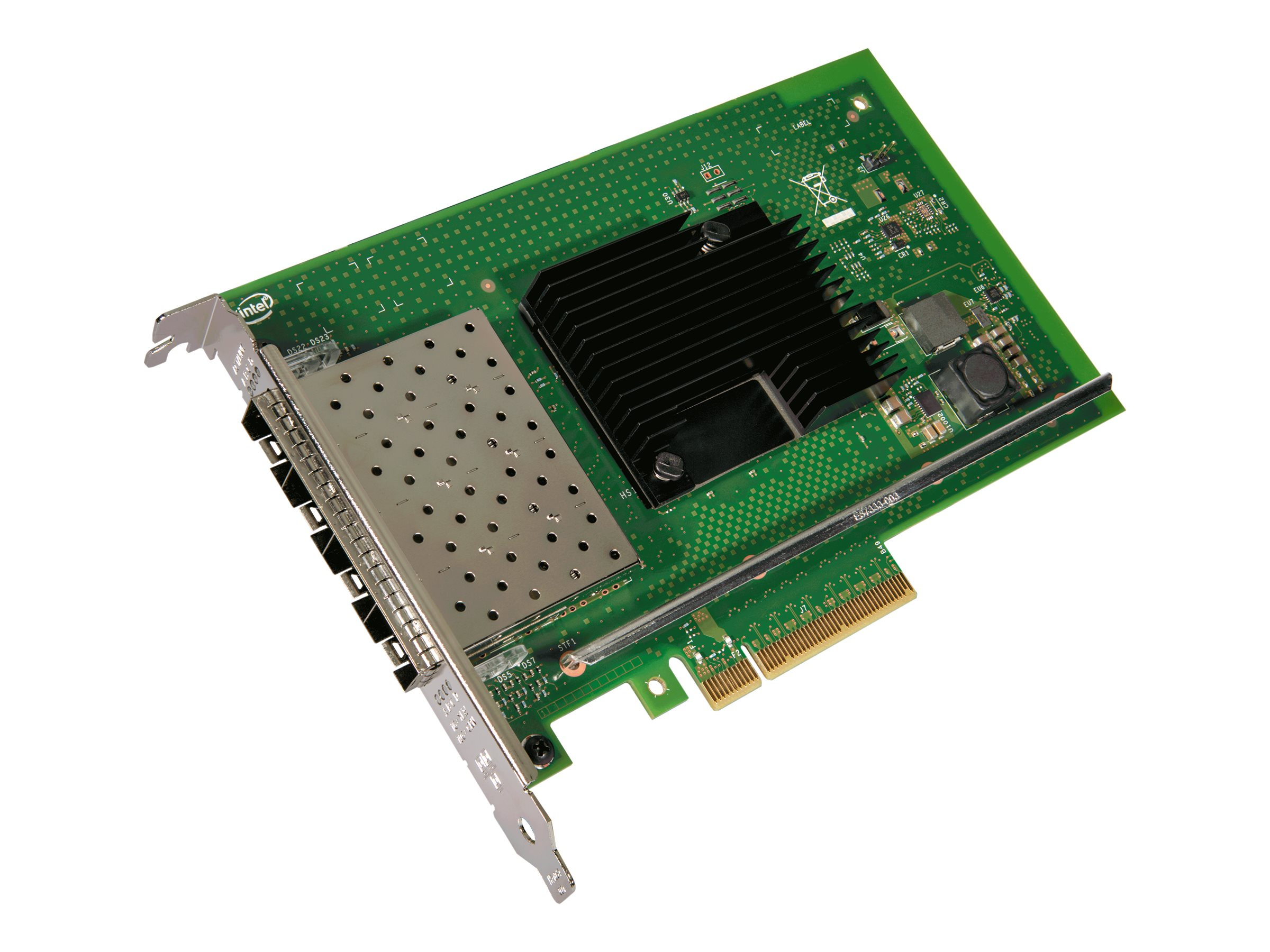 Intel Ethernet Converged Network Adapter X710-DA4 - network adapter - PCIe 3.0 x8 - 10 Gigabit SFP+ x 4