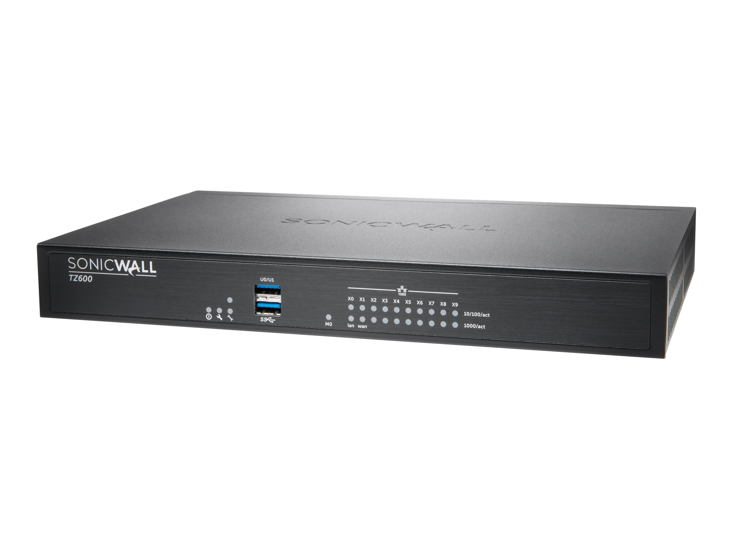 SonicWall TZ600 - security appliance - with 3 years SonicWALL Comprehensive Gateway Security Suite - Secure Upgrade Plus
