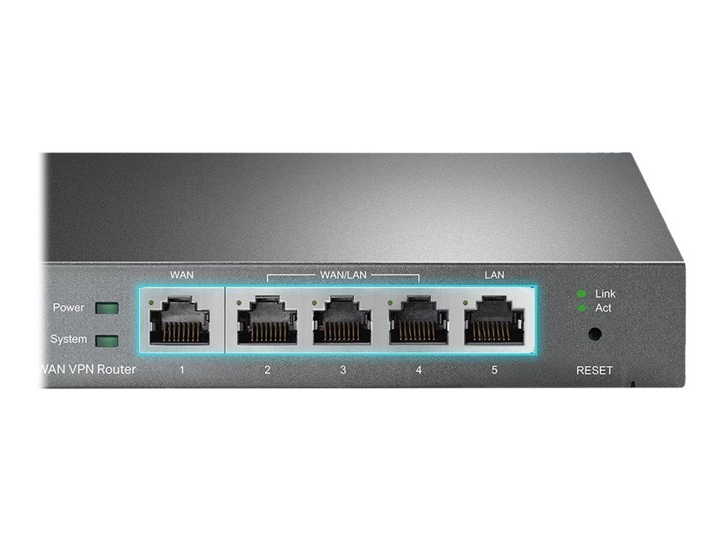 TP-Link SafeStream TL-R605 - router - desktop