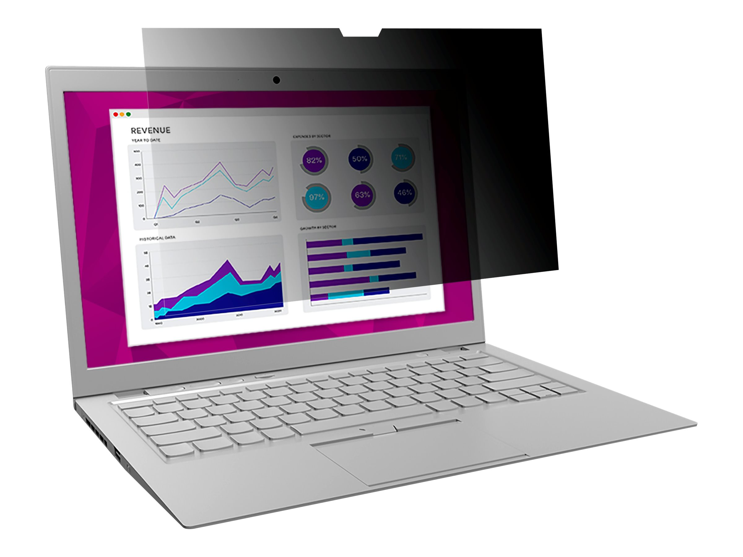3M High Clarity Privacy Filter for Microsoft Surface Laptop with COMPLY Attachment System notebook privacy filter