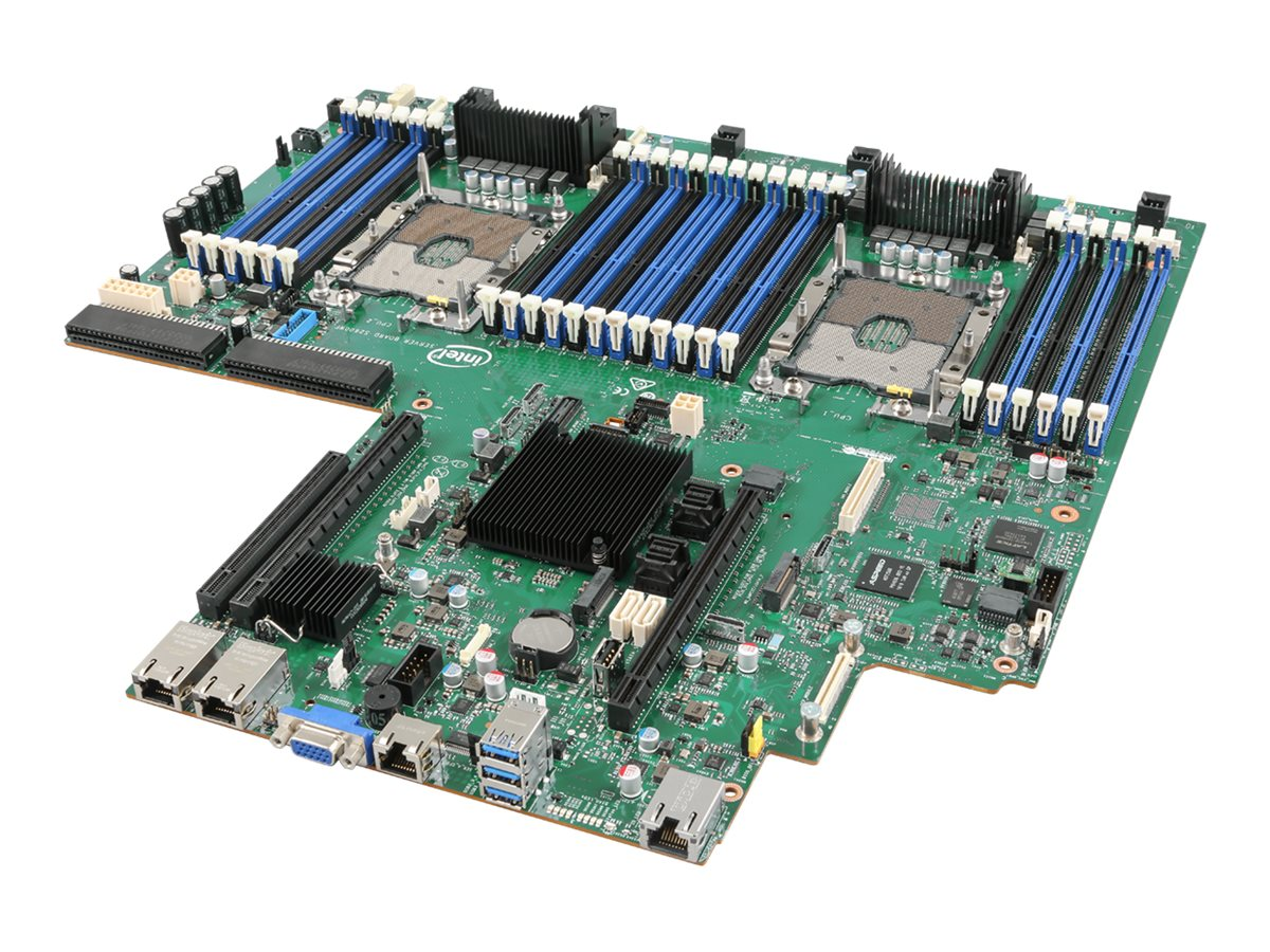 Intel Server Board S2600WFQR - motherboard - Intel - Socket P - C628