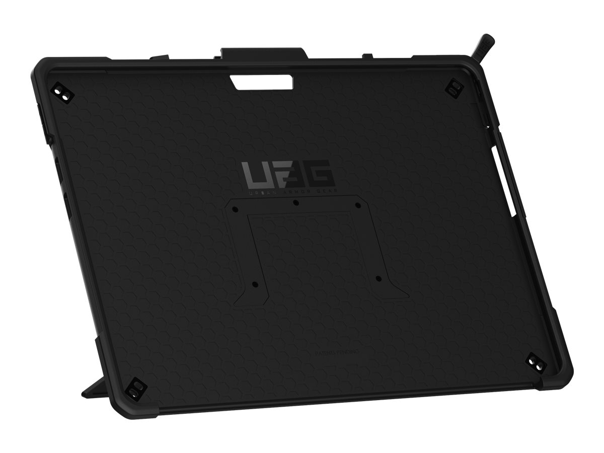 UAG Rugged Case for Microsoft Surface Pro X - Metropolis Black - back cover for tablet