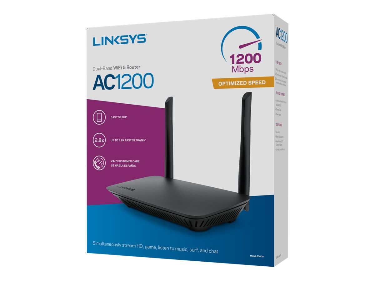 Linksys E5400 - wireless router - 802.11a/b/g/n/ac - desktop