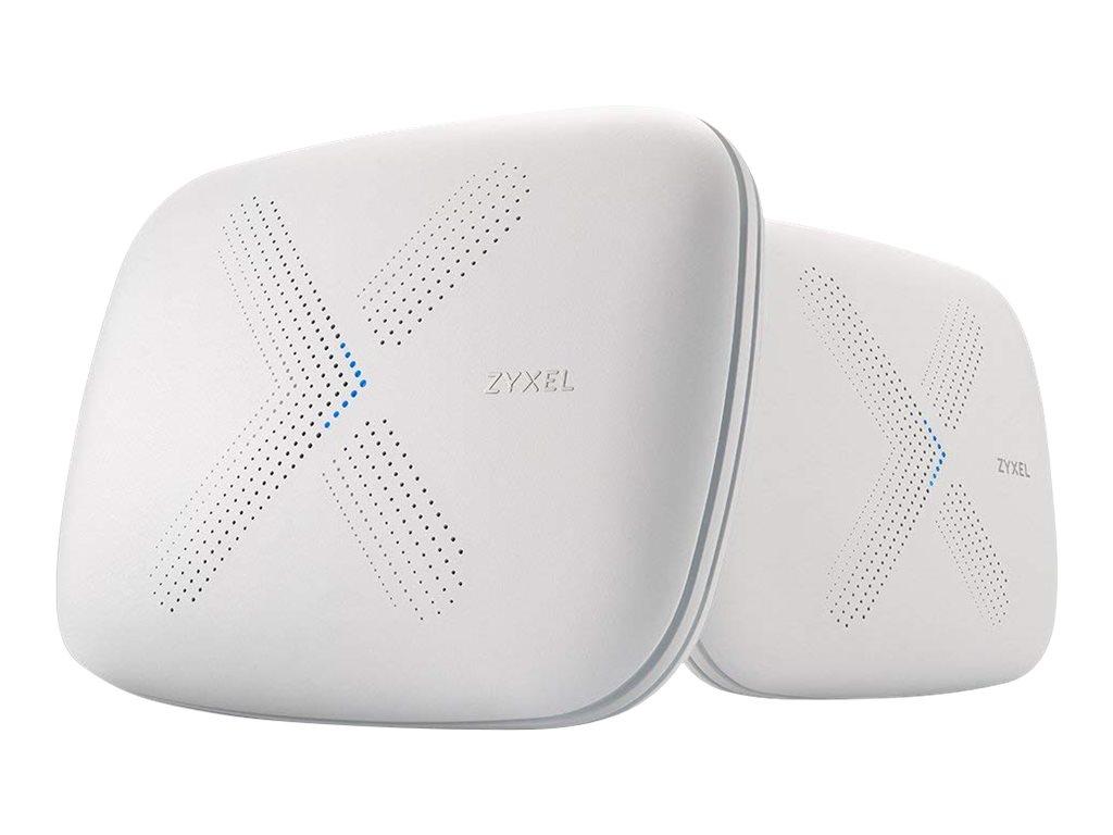 Zyxel Multy X WSQ50 - Wi-Fi system - 802.11a/b/g/n/ac, Bluetooth 4.1 - desktop
