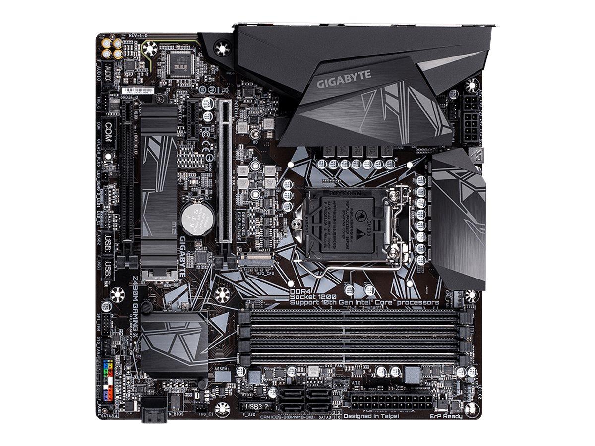 Gigabyte Z490M GAMING X - 1.0 - motherboard - micro ATX - LGA1200 Socket - Z490