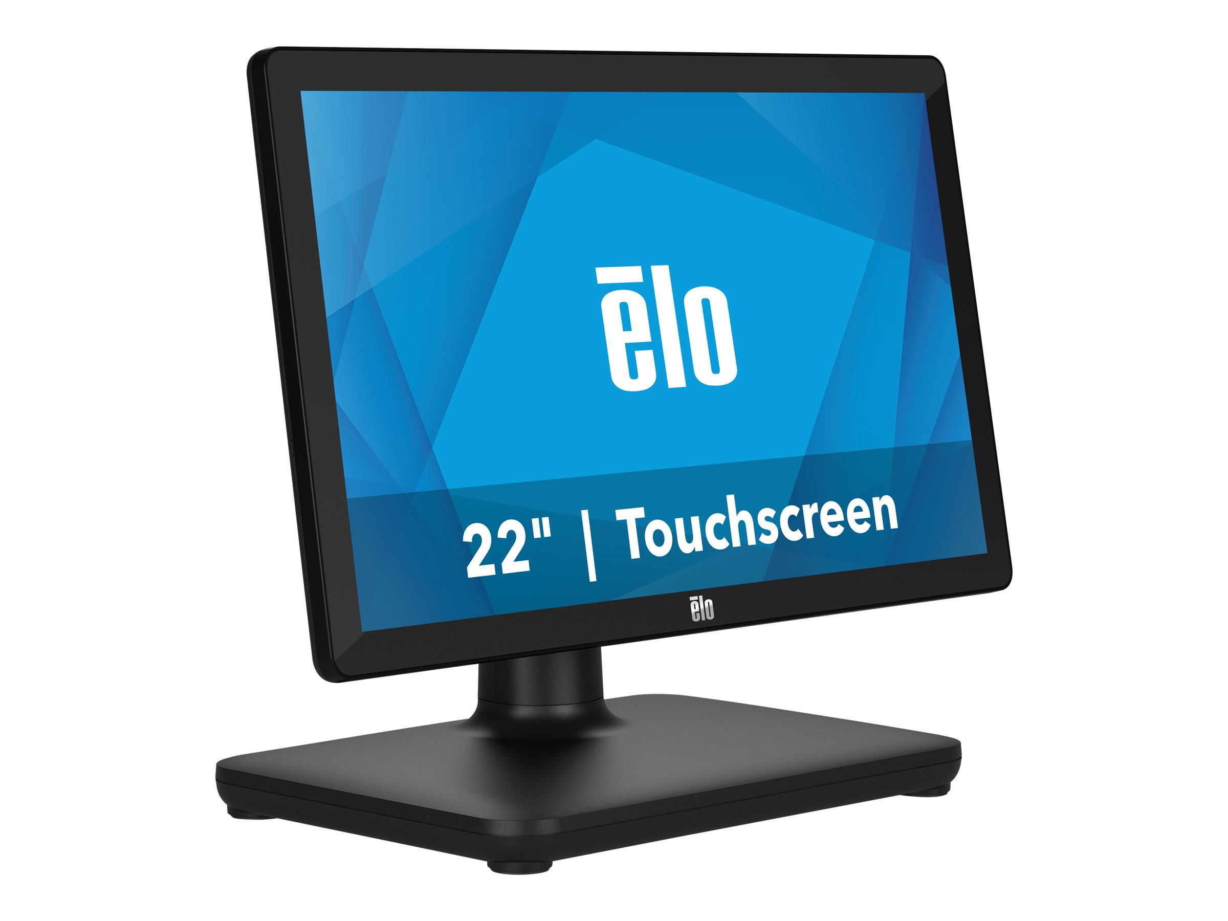 EloPOS System - with I/O Hub Stand - all-in-one - Core i3 8100T 3.1 GHz - 4 GB - SSD 128 GB - LED 21.5