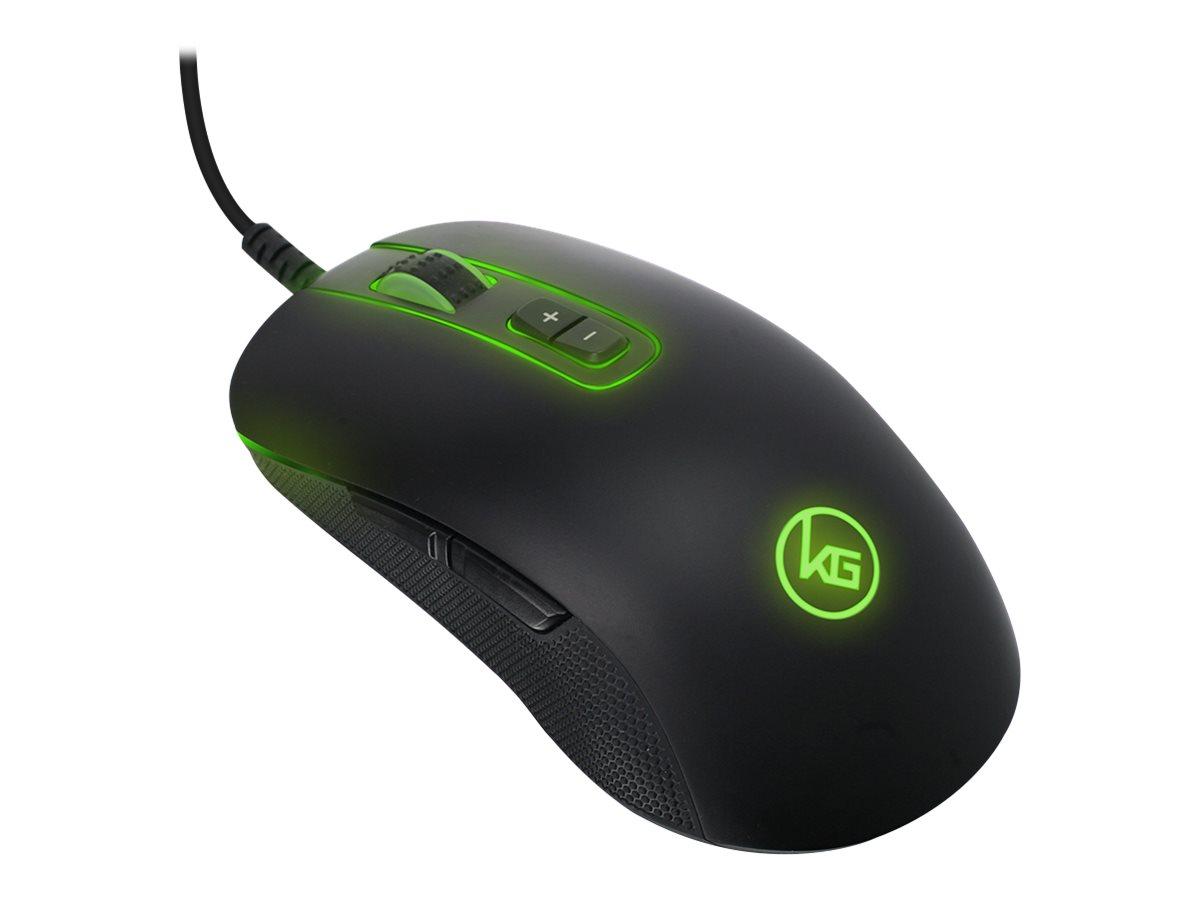 Kaliber Gaming KORONA RGB Gaming Mouse - mouse - USB 2.0