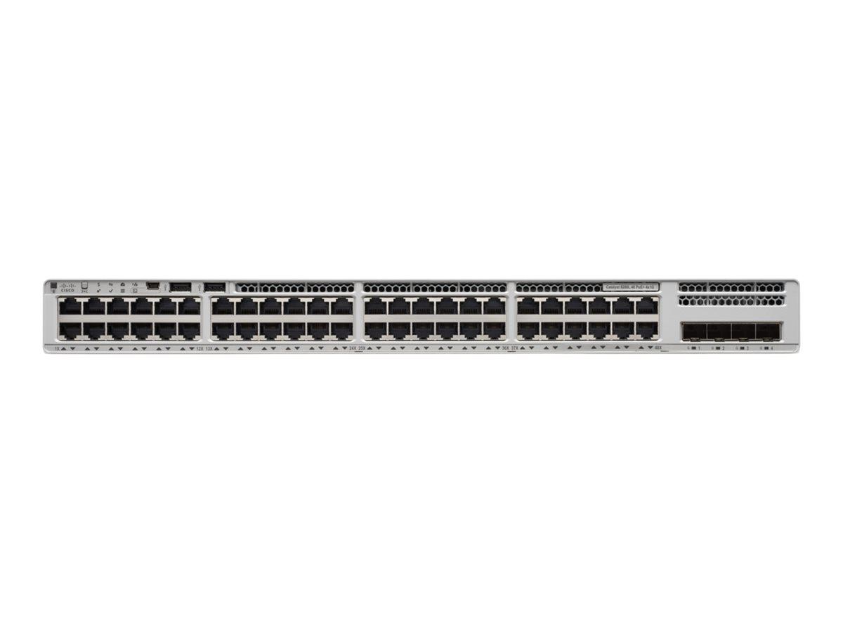 Cisco Catalyst 9200L - Network Essentials - switch - 48 ports - rack-mountable