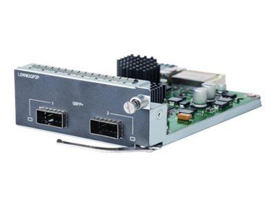 HPE 2-port QSFP+ Module - expansion module - 40Gb Ethernet x 2