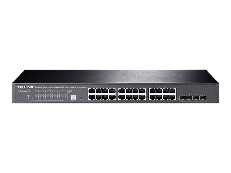 TP-Link JetStream T1700G-28TQ - switch - 24 ports - managed - rack-mountable