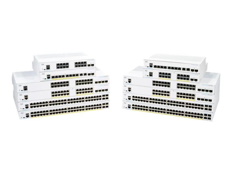 Cisco Business 250 Series 250-8FP-E-2G - switch - 10 ports - smart - rack-mountable