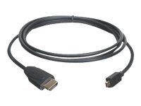IOGEAR High Speed Micro HDMI Cable with Ethernet - HDMI with Ethernet cable - 6.6 ft