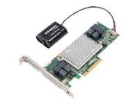 Microchip Adaptec 81605Z - storage controller (RAID) - SATA 6Gb/s / SAS 12Gb/s - PCIe 3.0 x8
