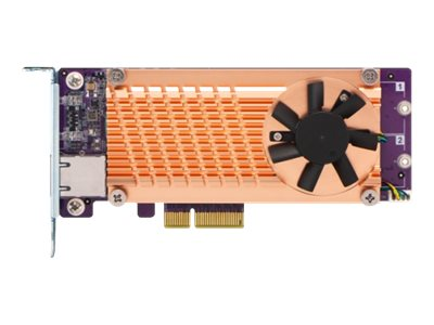 QNAP QM2-2P10G1TA - storage controller - PCIe - PCIe 2.0 x4