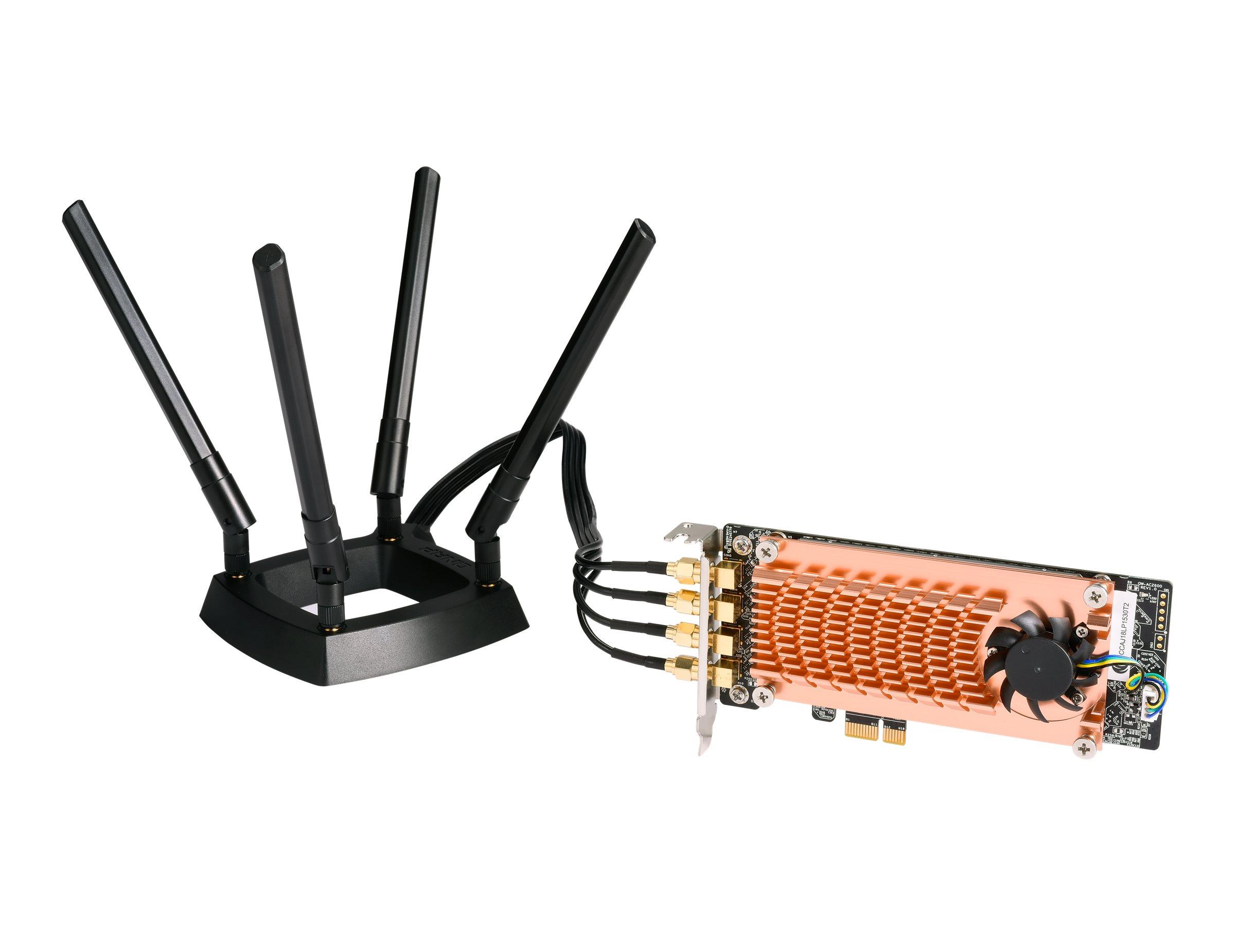 QNAP QWA-AC2600 - network adapter - PCIe 2.0