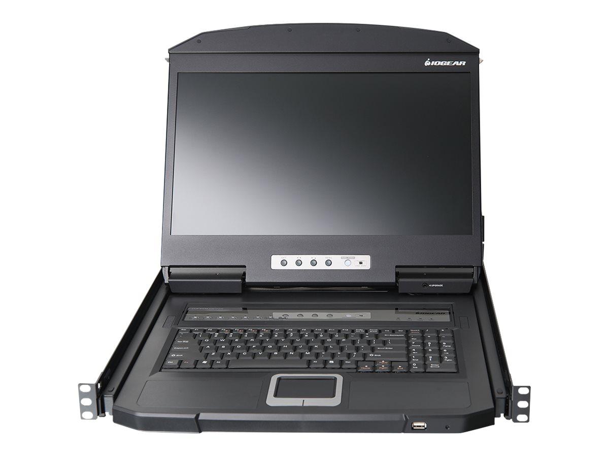 IOGEAR GCL1908WKITU - KVM console - 18.5