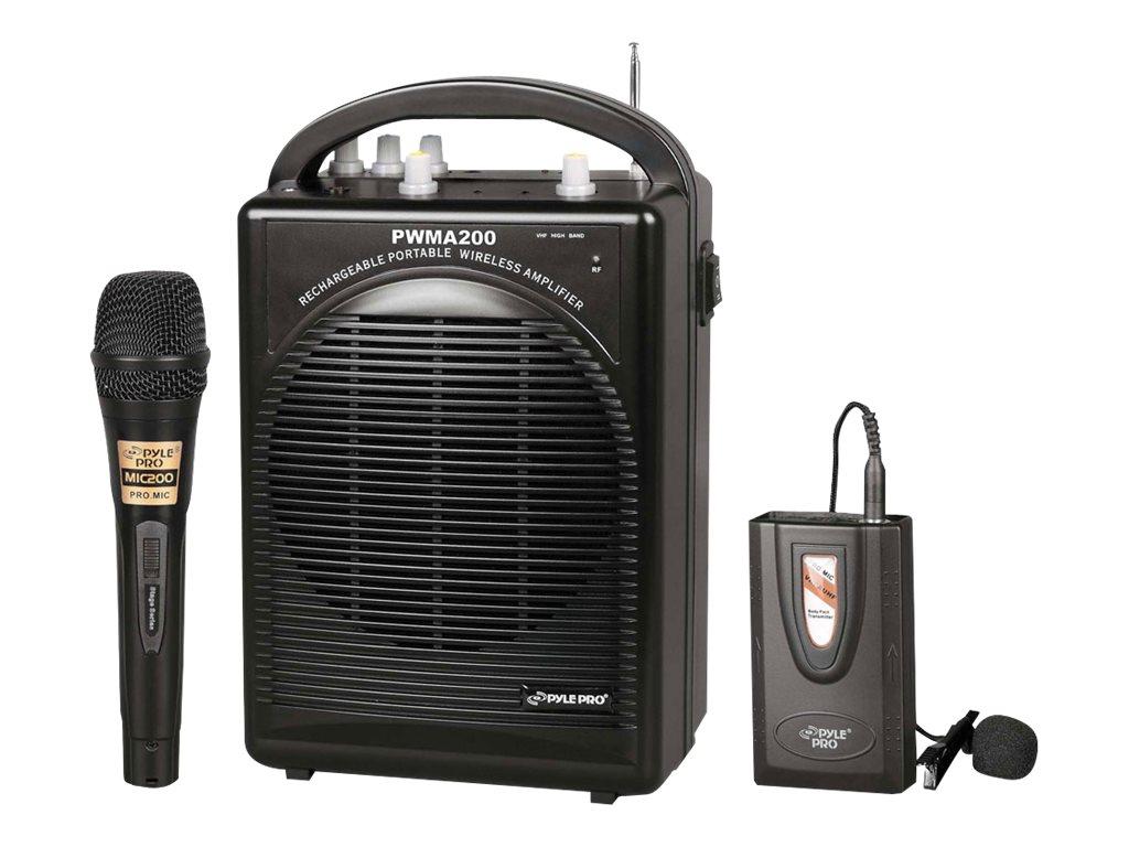 PylePro PWMA200 - speaker - for PA system - wireless