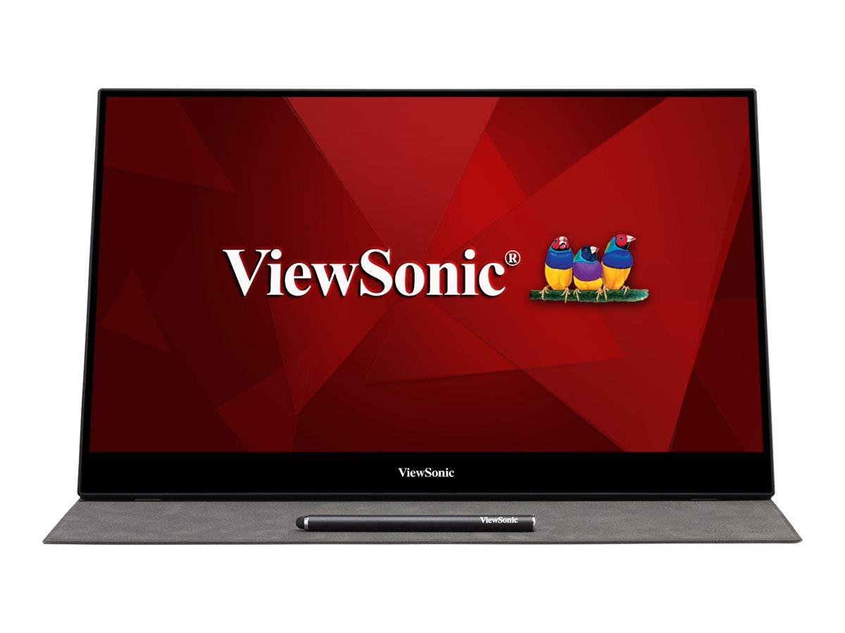ViewSonic TD1655 - LED monitor - Full HD (1080p) - 15.6
