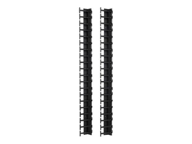 APC rack cable management panel - 42U