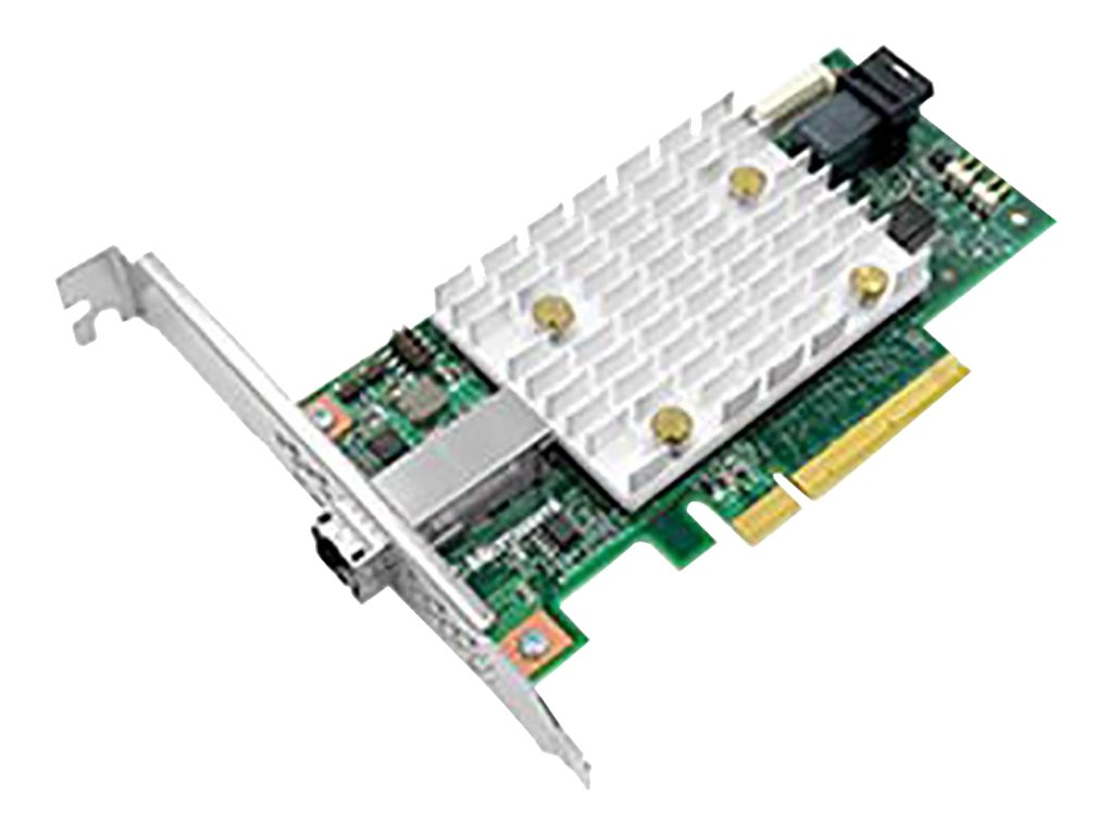 MicroSemi SmartHBA2100-4i4e - storage controller (RAID) - SATA 6Gb/s / SAS 12Gb/s - PCIe 3.0 x8