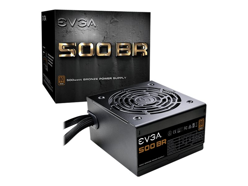 EVGA 500 BR - power supply - 500 Watt