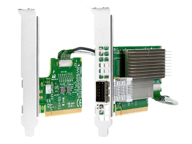 HPE InfiniBand HDR/Ethernet 200Gb 1-port 940QSFP56 - network adapter - PCIe 4.0 x16 - 200Gb Ethernet / 200Gb Infiniband QSFP28 x 1