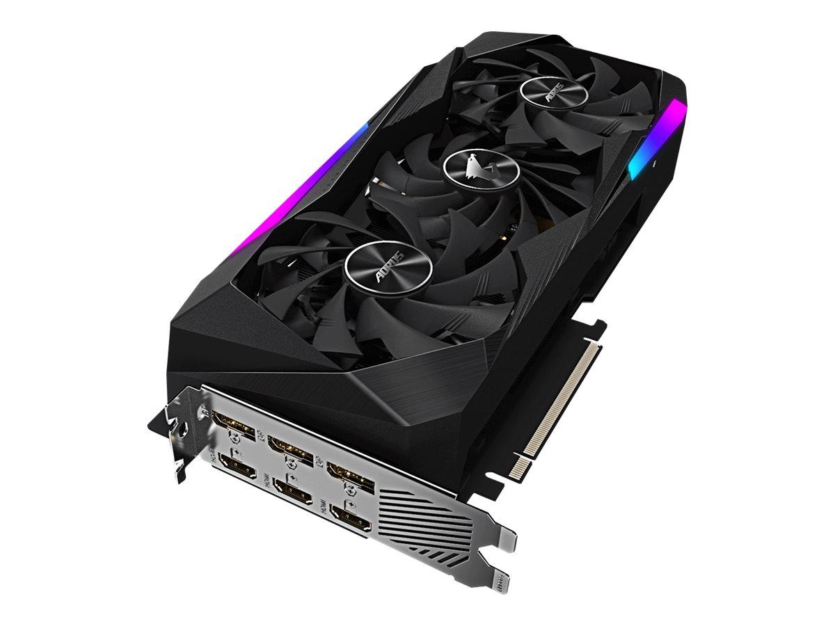 Gigabyte AORUS GeForce RTX 3060 Ti MASTER 8G - graphics card - GF RTX 3060 Ti - 8 GB