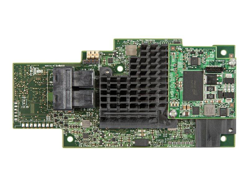 Intel Integrated RAID Module RMS3CC040 - storage controller (RAID) - SATA 6Gb/s / SAS 12Gb/s - PCIe 3.0 x8