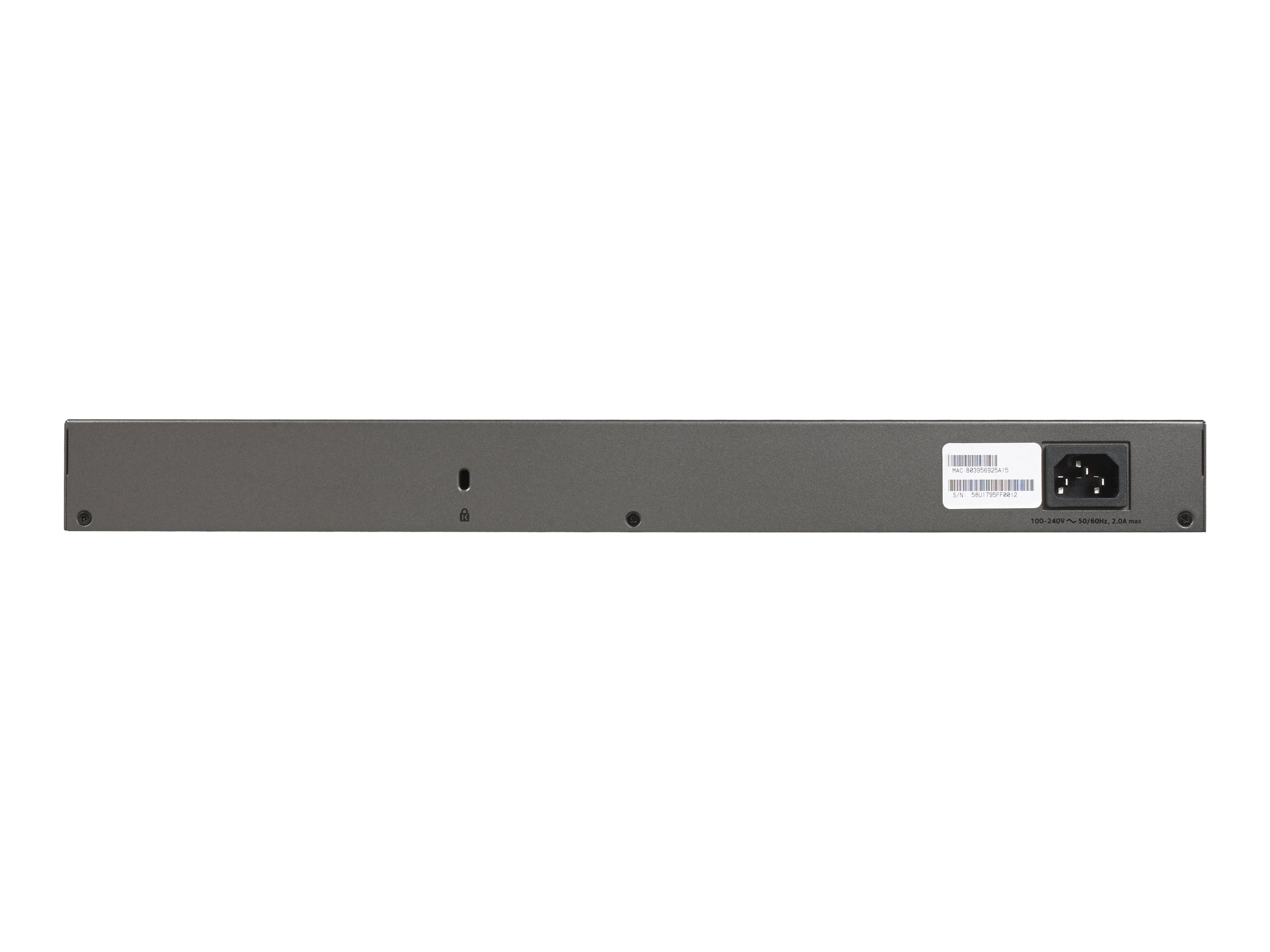 NETGEAR Plus XS724EM - switch - 24 ports - managed - rack-mountable