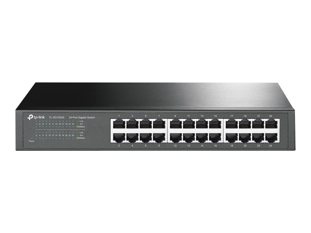 TP-Link TL-SG1024S - switch - 24 ports - unmanaged - rack-mountable
