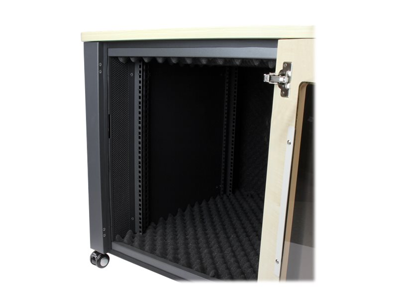 StarTech.com 12U Server Rack Enclosure - 21.5 in. Deep - Quiet rack - 12U